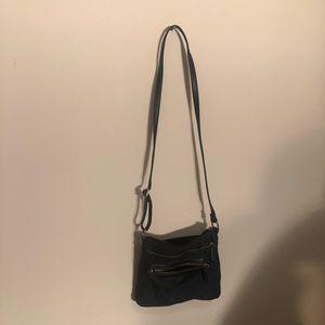 Black crossbody purse